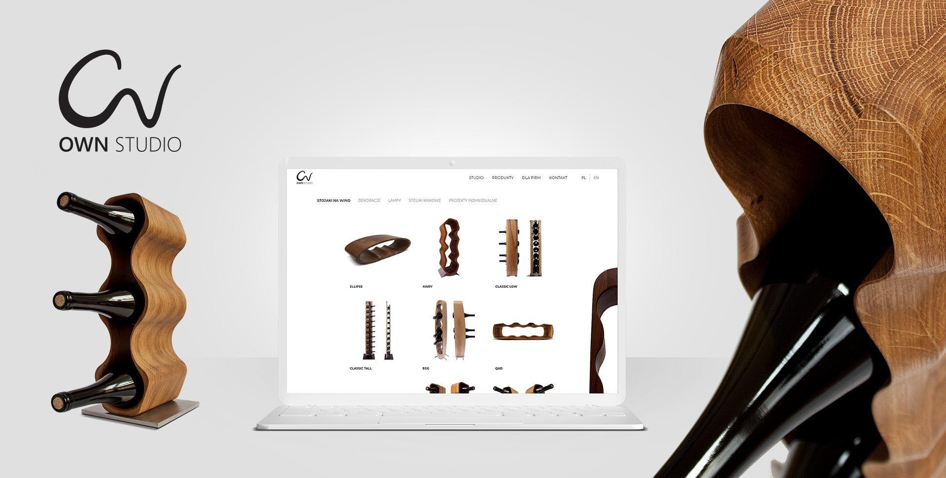 Designerskie strony internetowe dla producentów