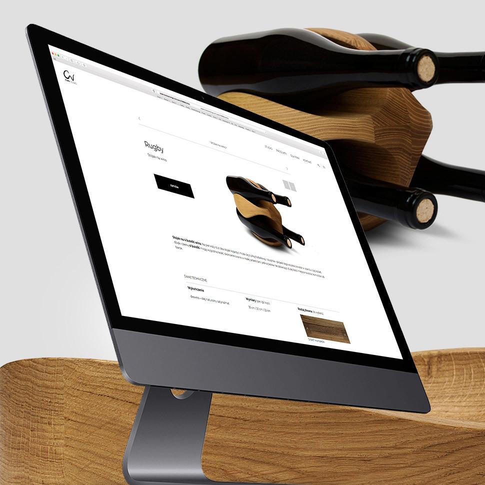 strona internetowa dla OWN Studio